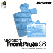 The FrontPage 98 box cover