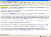 Microsoft FrontPage 2000 in web-authoring mode
