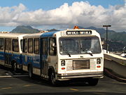 Wiki Wiki bus at Honolulu International Airport